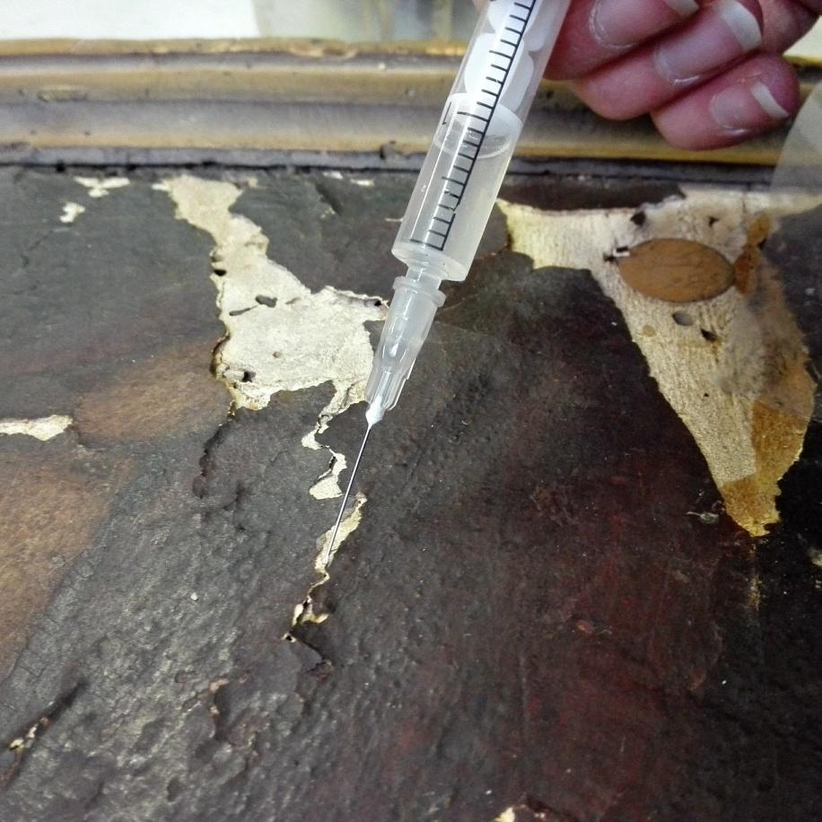 alice panhard restauration peinture